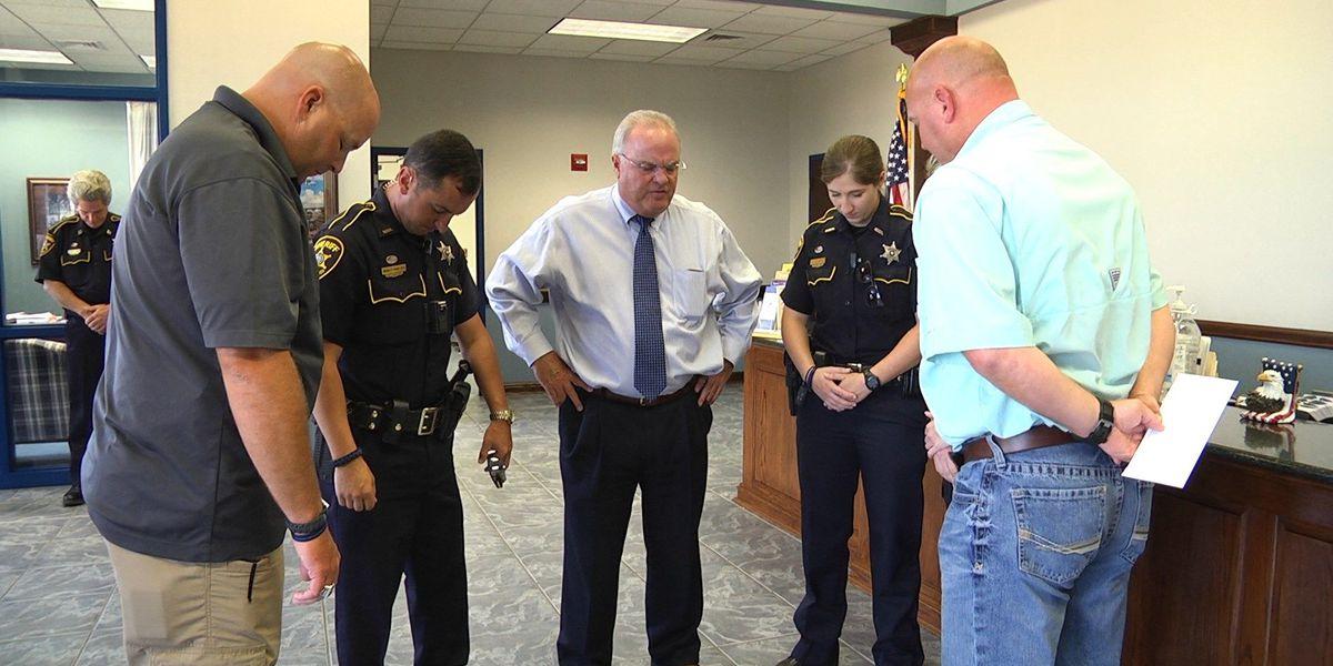 5 Bossier deputies leave for Baton Rouge