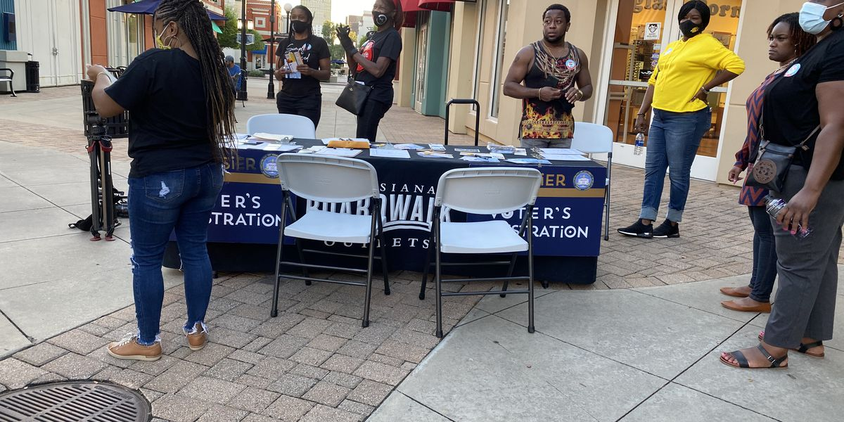 Voter registration on the rise in parts of the ArkLaTex