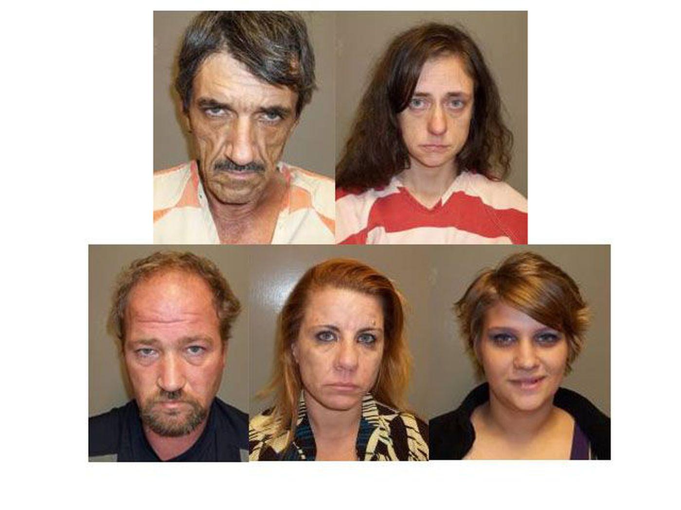 10 arrested in Haughton meth lab bust
