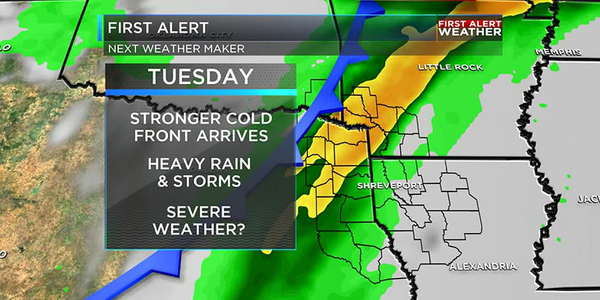 Dry weather continues for now with strong storms possible next week