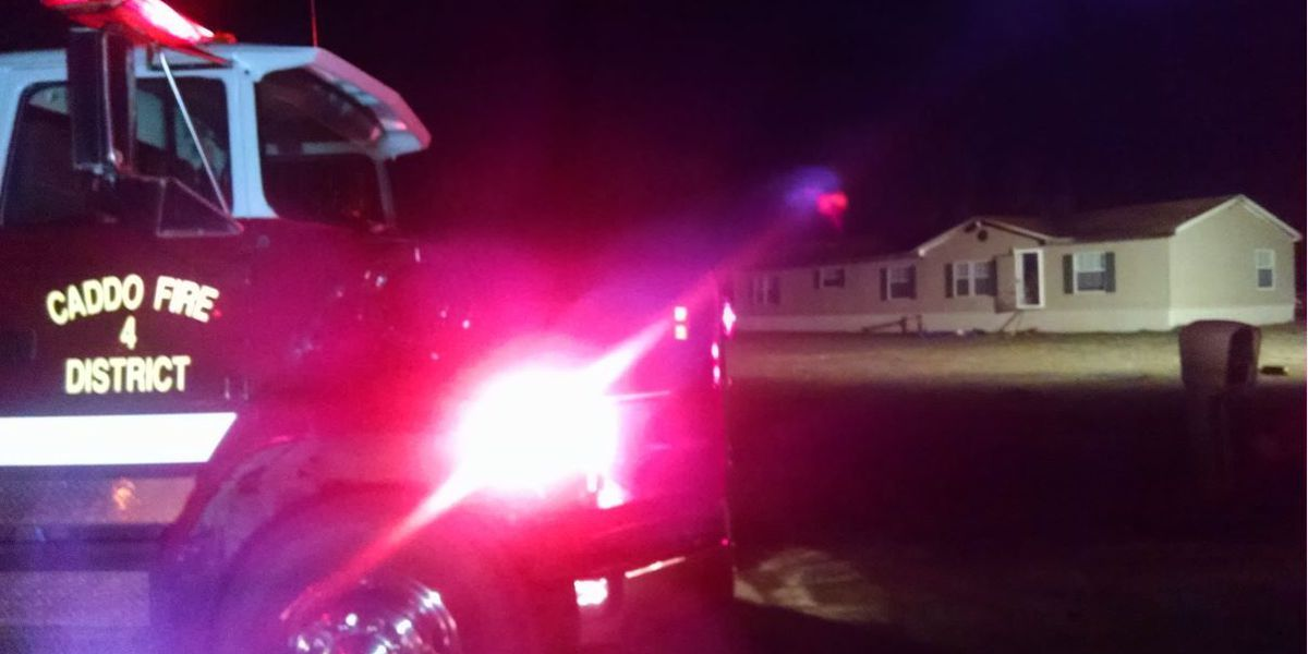 Greenwood family displaced after mobile home fire