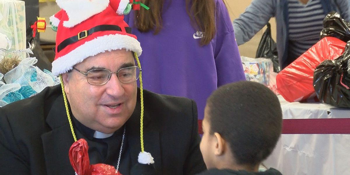 Christmas starts early for families visiting St. Vincent De Paul