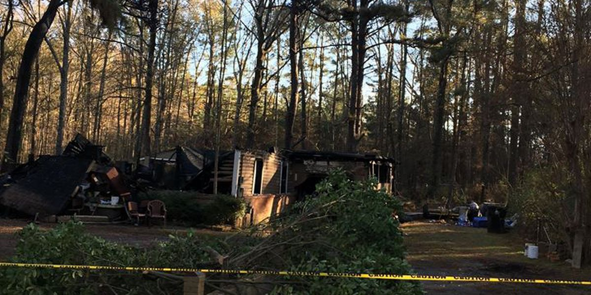 83-year-old man who lived alone dies in house fire