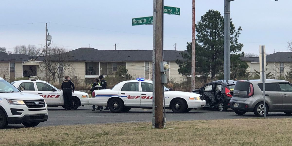 Police report no stabbing involved with crash on Hearne