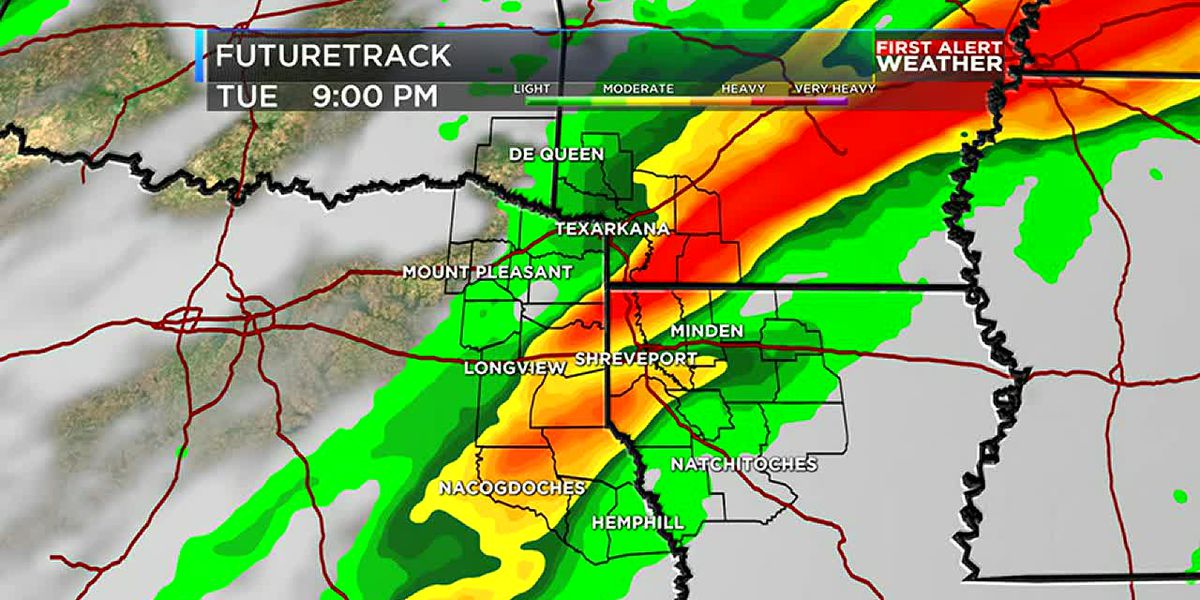 FIRST ALERT: Severe weather possible next week