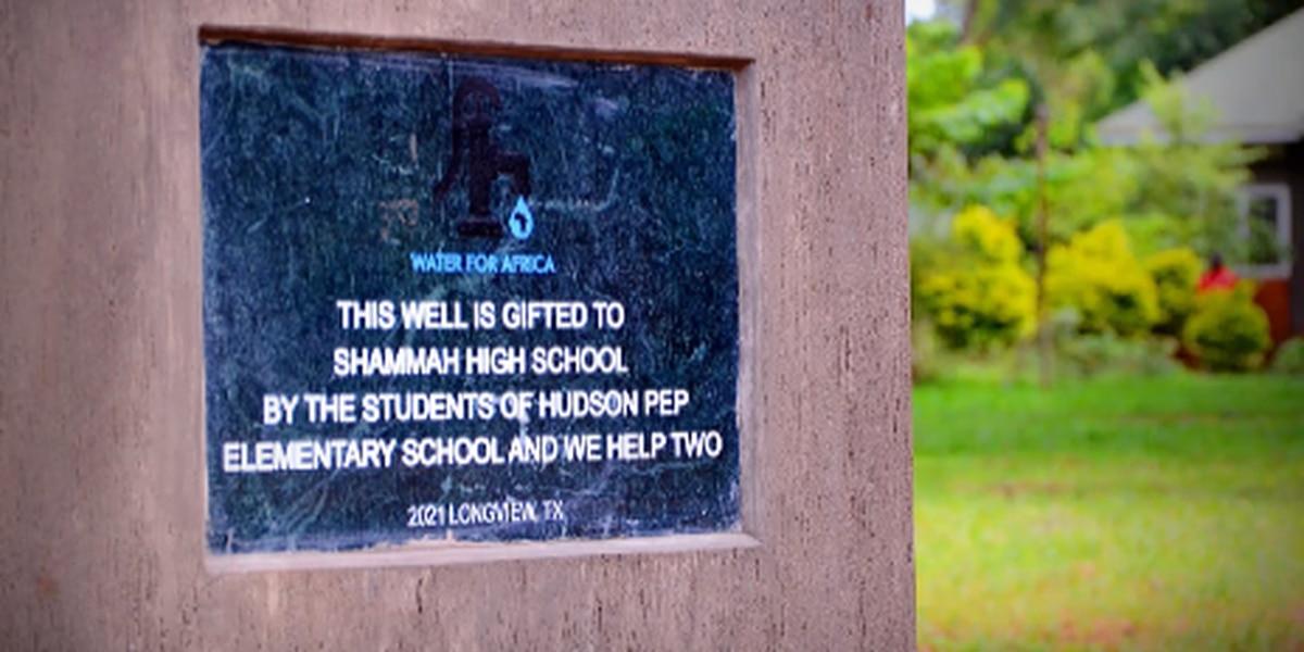 East Texas students raise money to create water well in Uganda