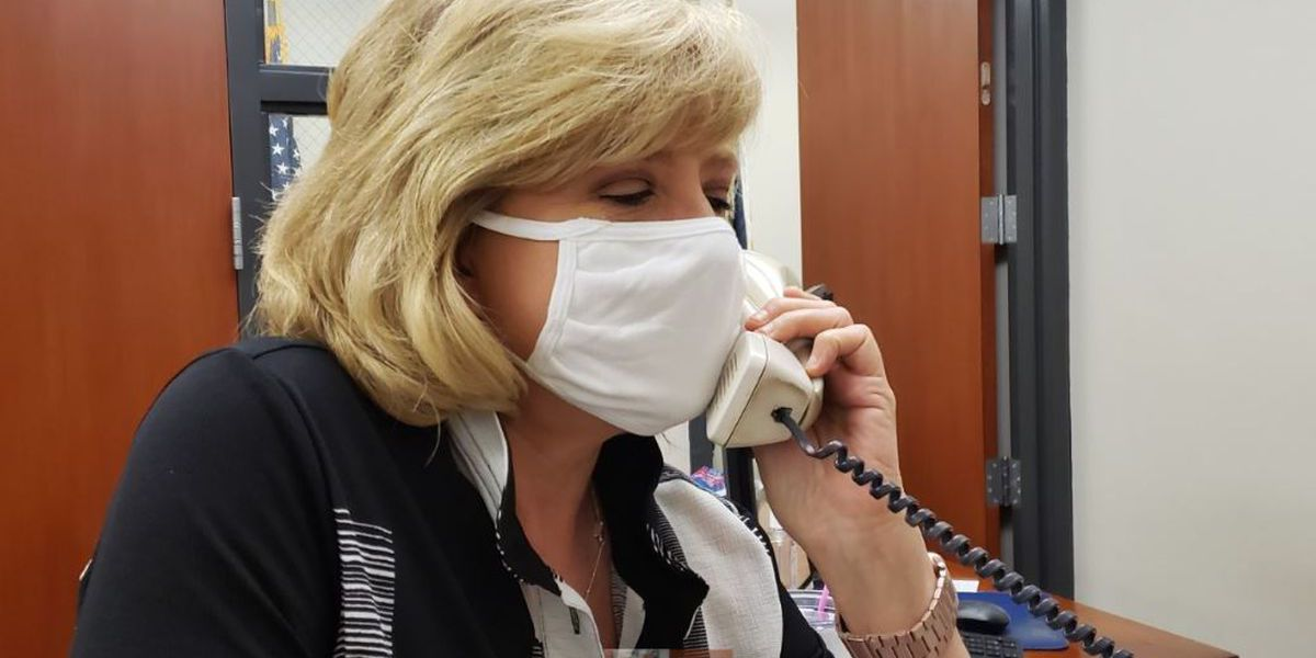 Face mask mandate for workers in Louisiana starts Friday
