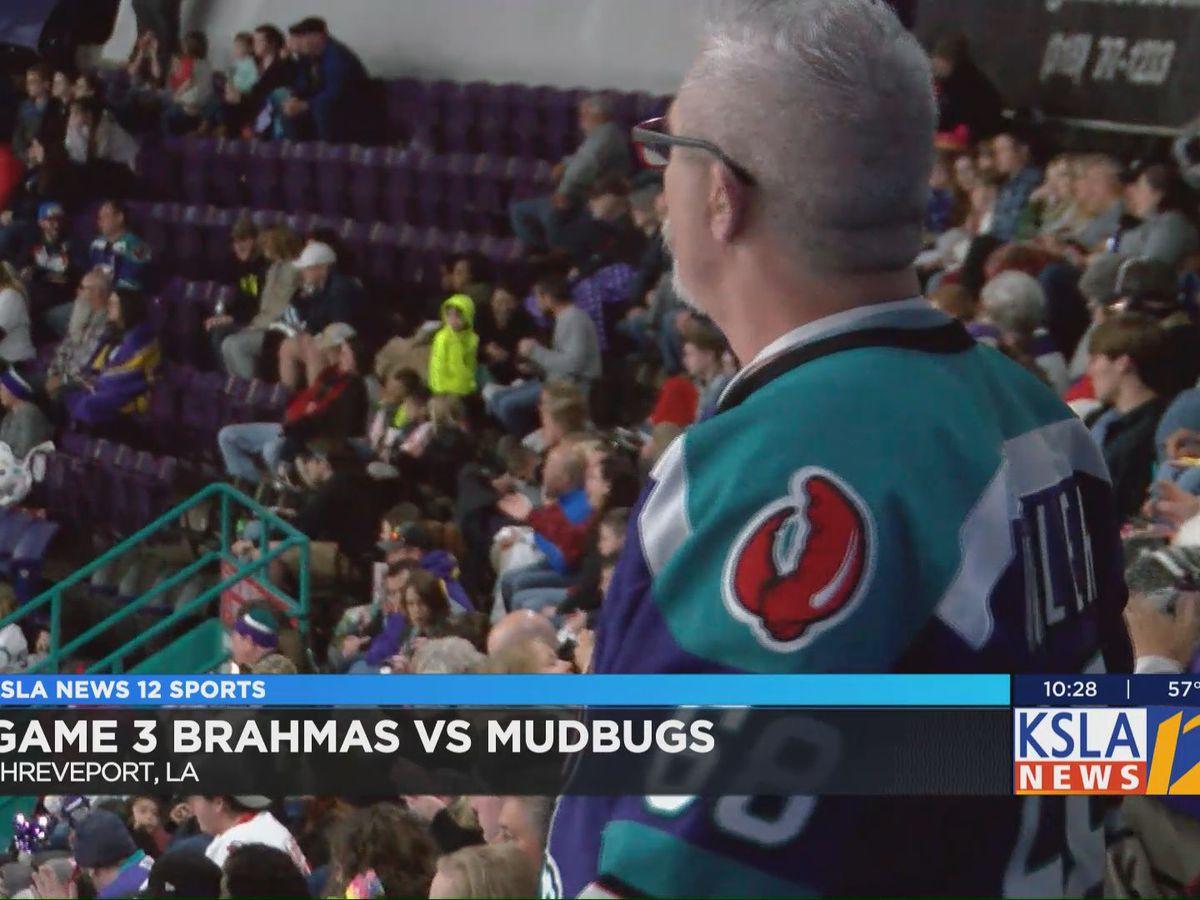 Mudbugs fall 1-0 to the Brahmas in Game 3