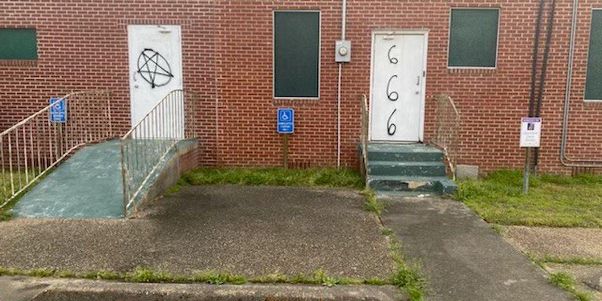 Shreveport church vandalized; police searching for suspect