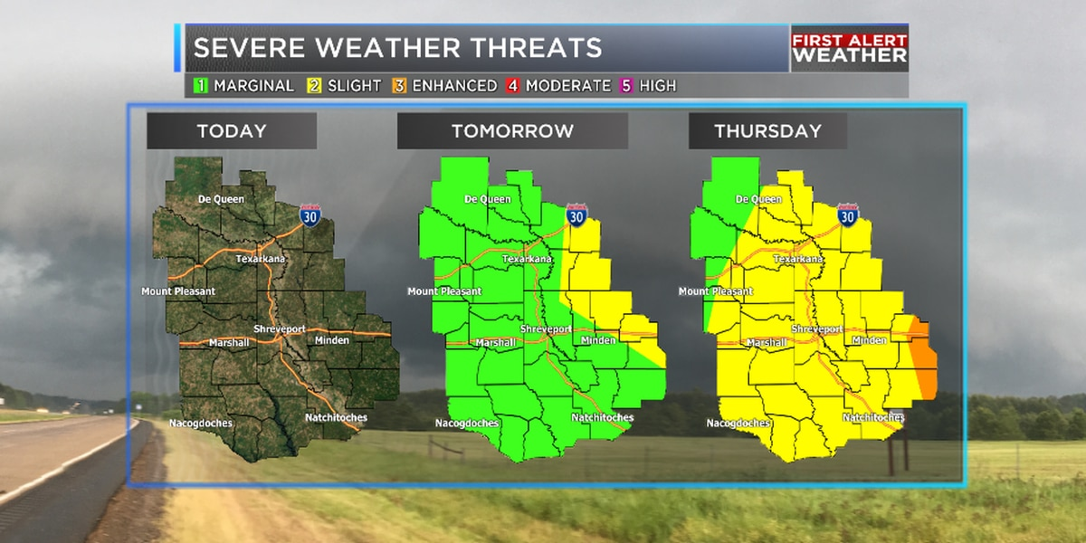 Storms clear out early with more on the way Thursday