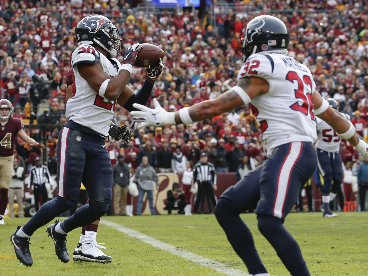 Texans beat Redskins 23-21 to extend winning streak to 7