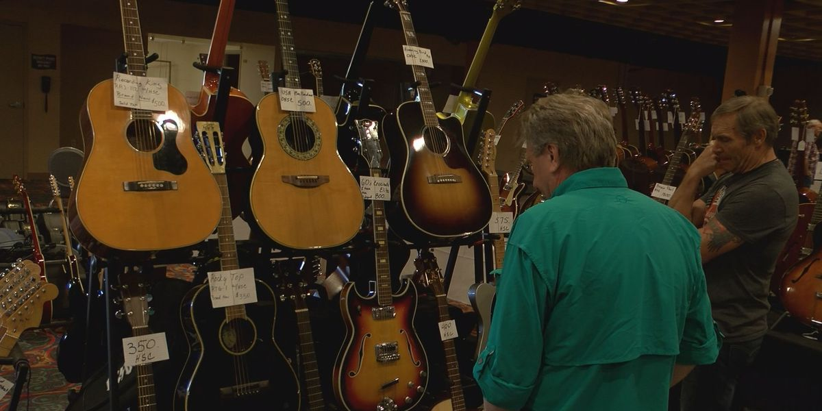 Local Guitar Show gives back to local schools