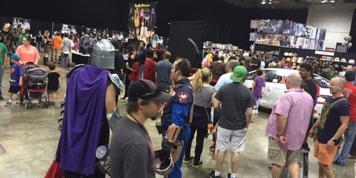 Music festival, water slide, Geek'd Con draw thousands