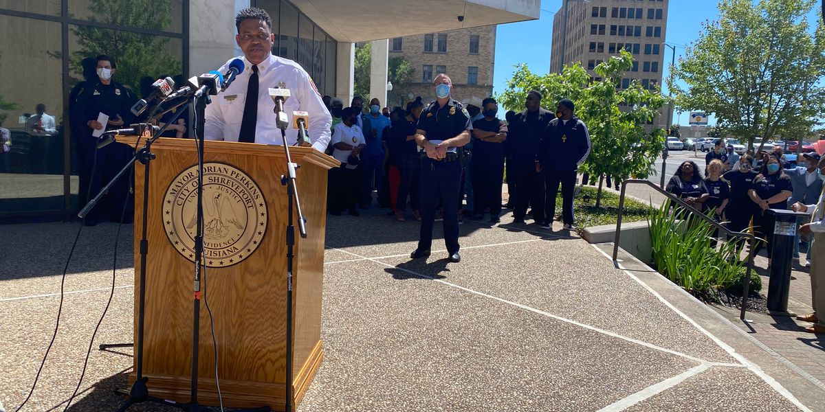 'Enough is enough': Shreveport city leaders address 'pandemic' of gun violence
