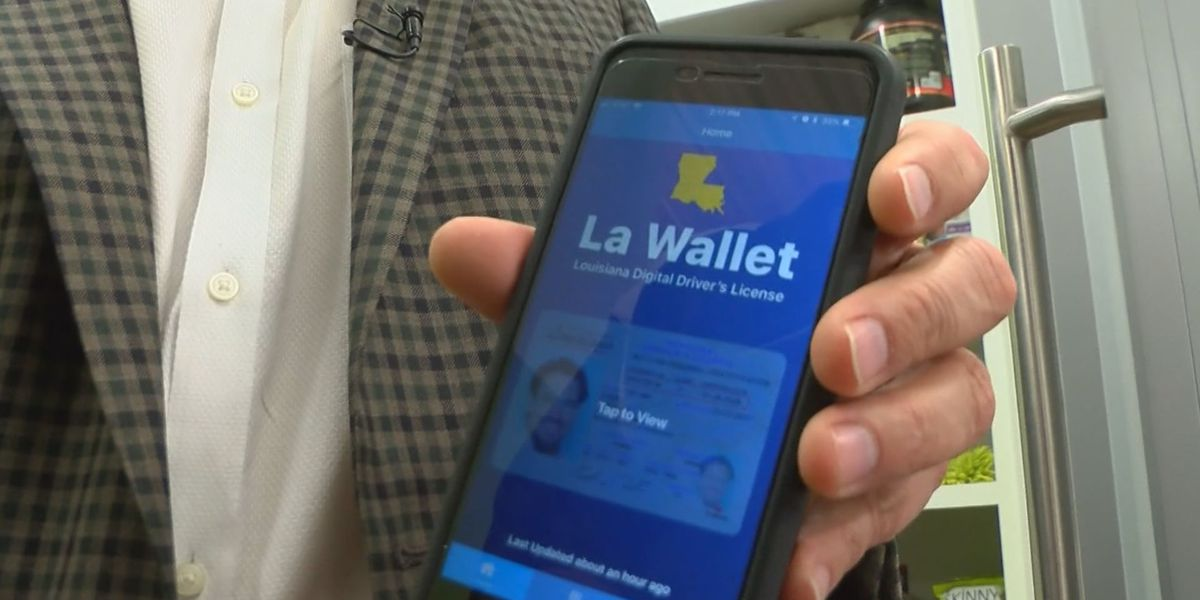 Louisiana driver's license renewal now available through LA Wallet app