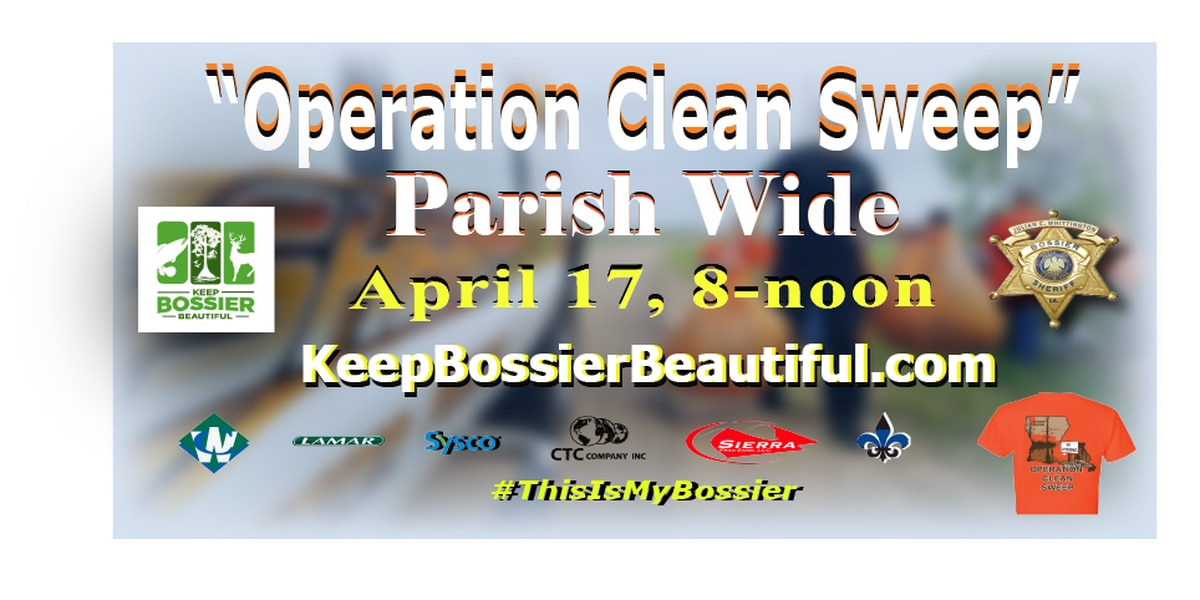 BPSO partners with Keep Bossier Beautiful to host 'Operation Clean Sweep'