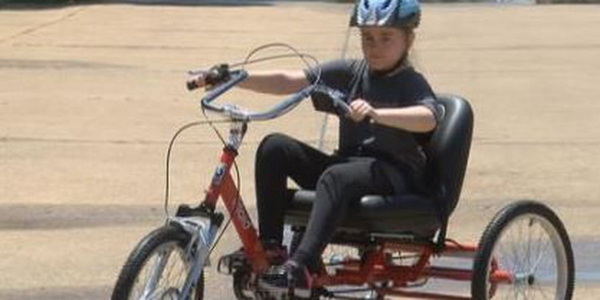 Community gives Shreveport girl her dream of riding a bike