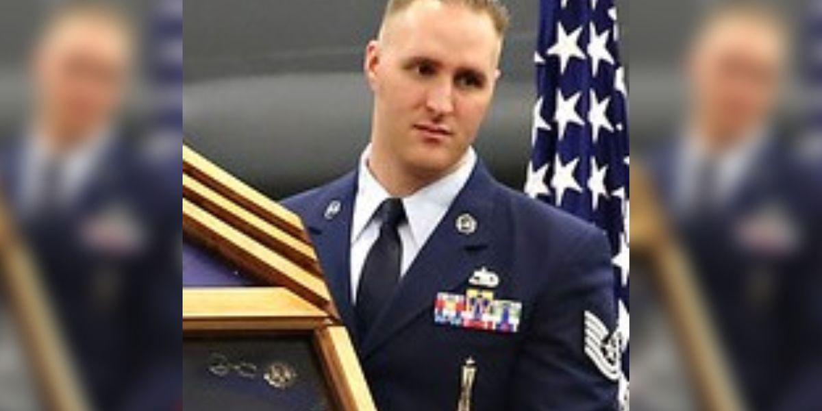 Widow of slain airman files wrongful death lawsuit