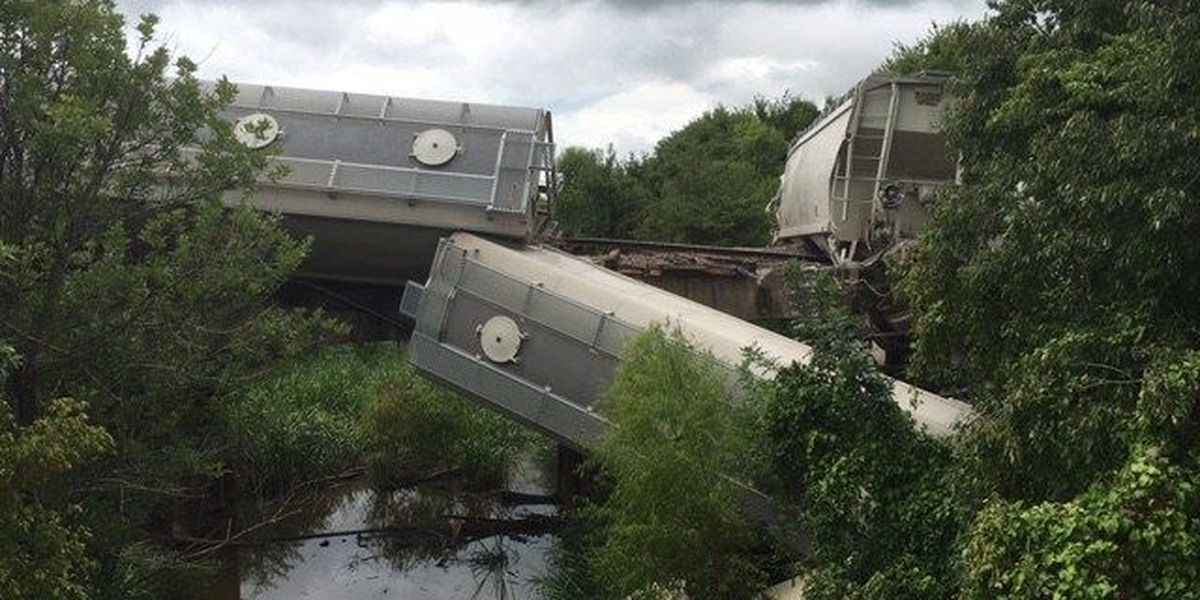 Train derails in SWAR, causes traffic delays