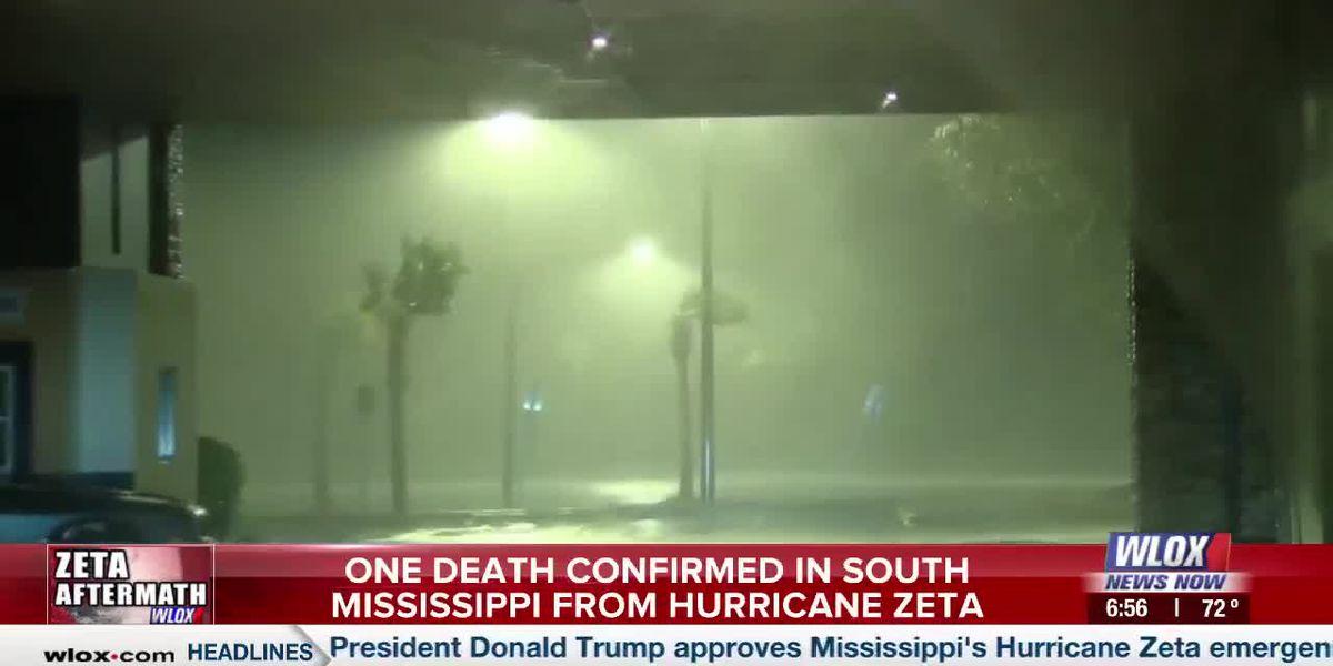 UPDATE: Man identified in South Mississippi Hurricane Zeta death