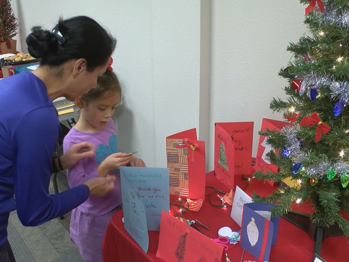 Red Cross hosted annual Holiday for Heroes event