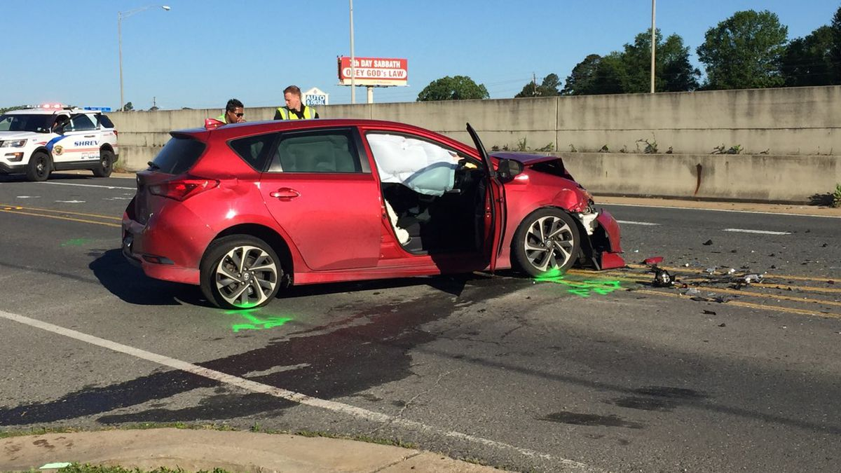 Two seriously injured in crash near Pines Road