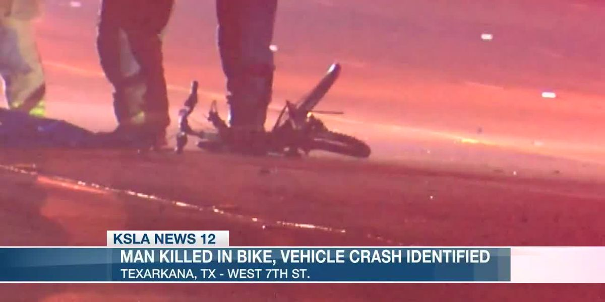 Man killed in bike, vehicle crash identified