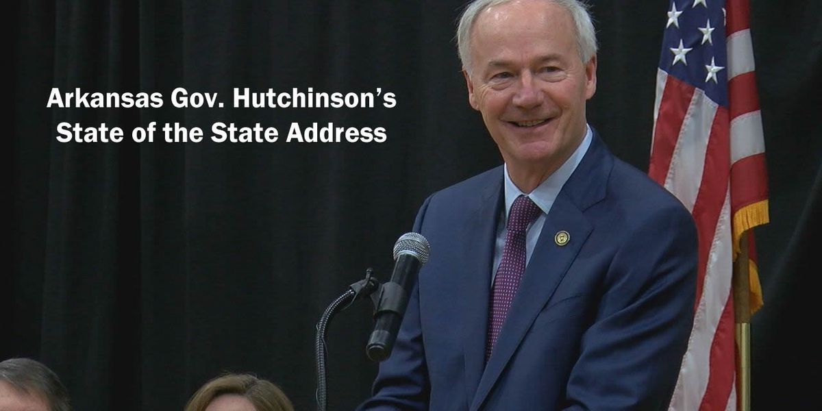 Hutchinson talks budget, tax cuts, teacher pay raises in State of the State Address
