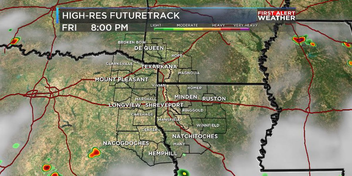 FIRST ALERT: Heavy rain and storms taper off late Friday