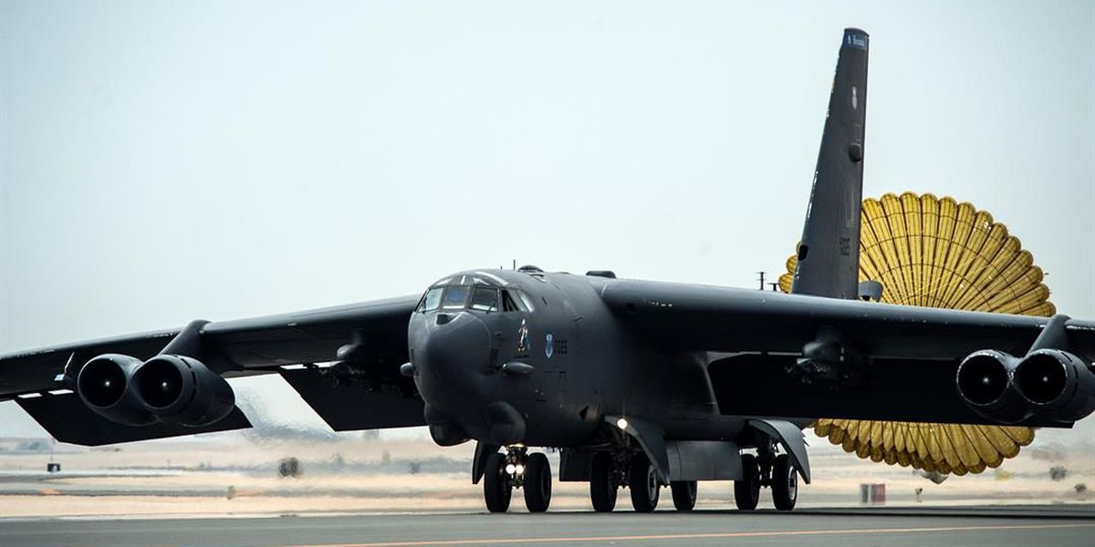 Barksdale B-52s arrive in Qatar to join campaign against ISIS