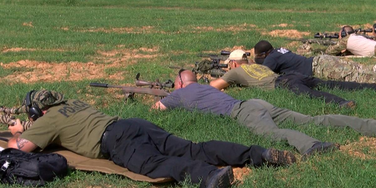 Caddo Sheriff's Office hosts sniper school