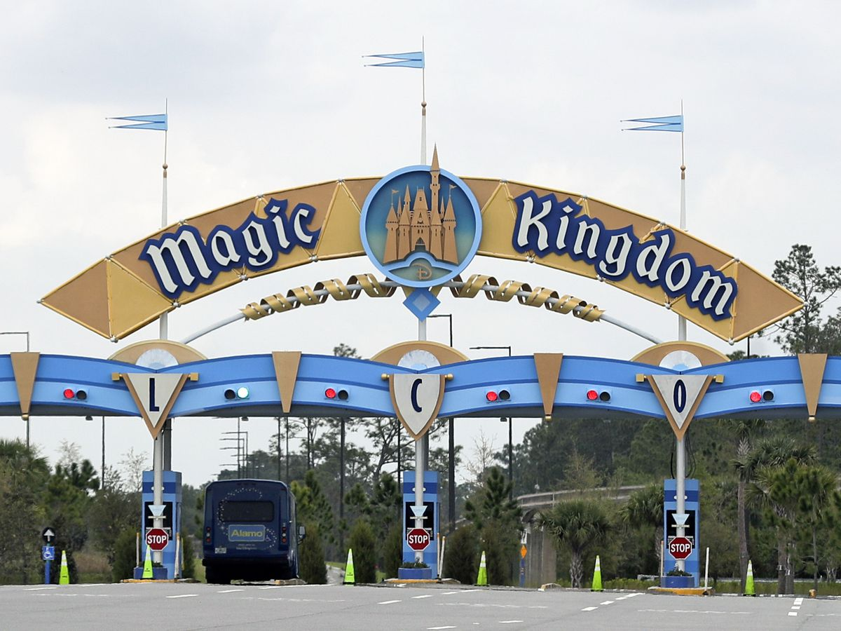 Disney World sets reopening dates in July