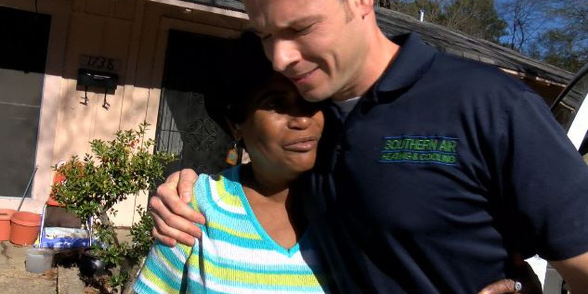 HEAT FOR THE HOLIDAYS: Shreveport business gives woman new furnace