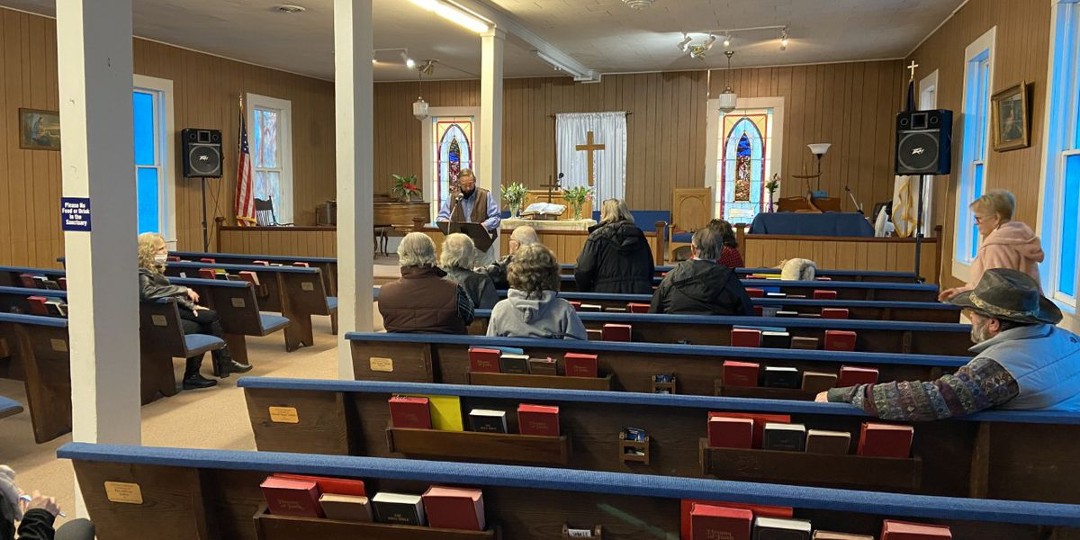 Starrville Methodist Church has first Sunday service since pastor was killed