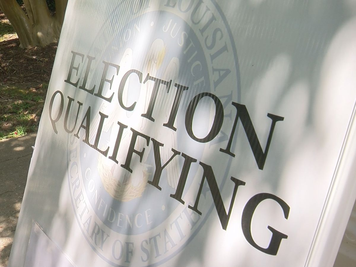 Qualifying continues for elections Nov. 3 in Louisiana