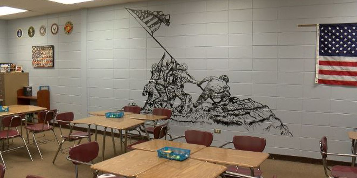 KSLA Salutes: NWLA art teacher creates historic mural inside school