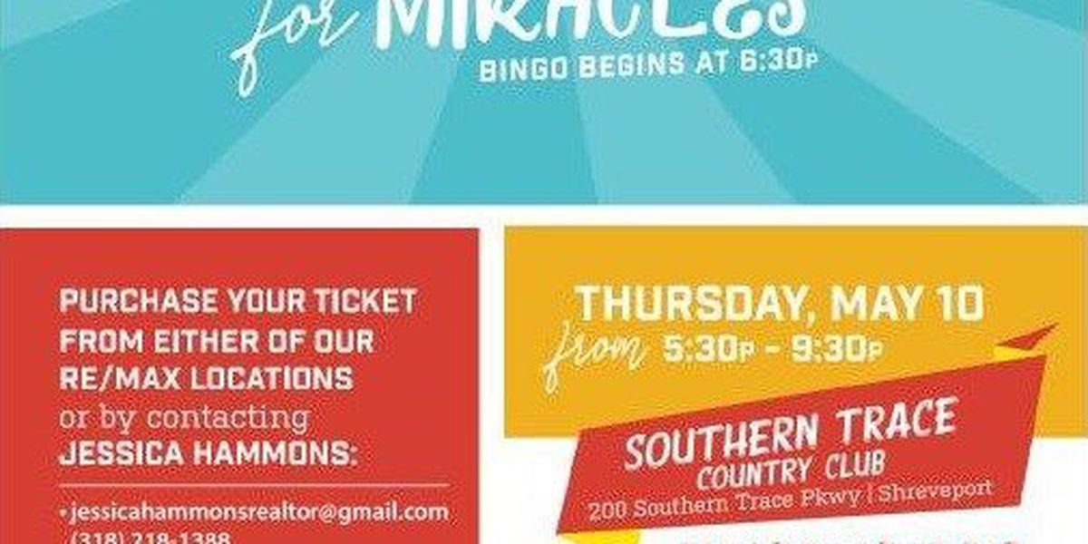 'Bingo for Miracles' to raise funds for Children's Miracle Network