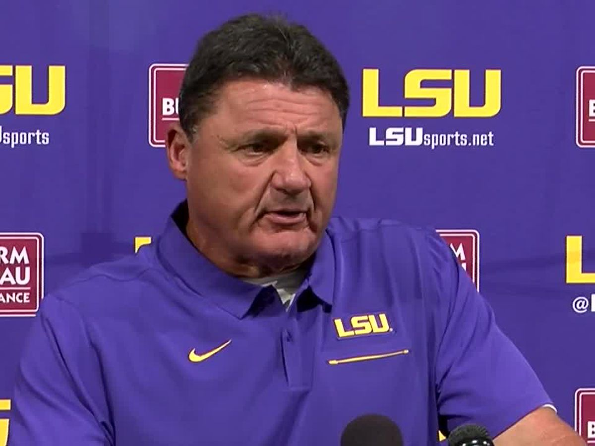 Lunch with Coach O: LSU vs Utah State Preview