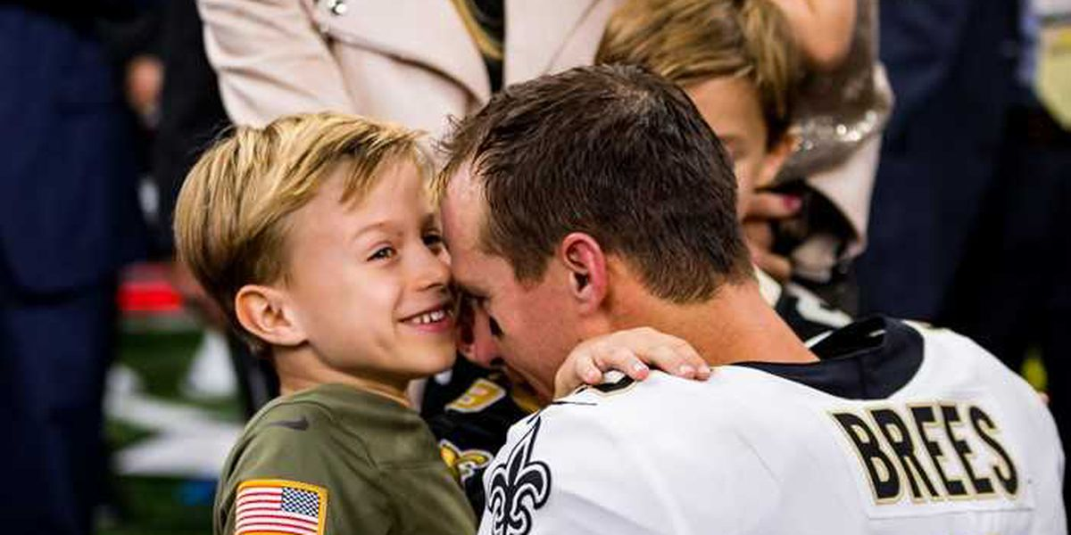 When are the Brees children famous? Their answer will warm your heart