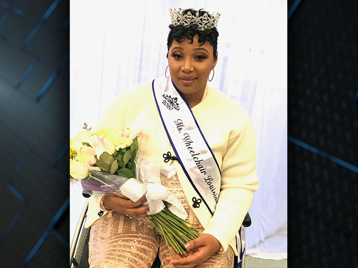 Baton Rouge woman crowned Ms. Wheelchair Louisiana 2020