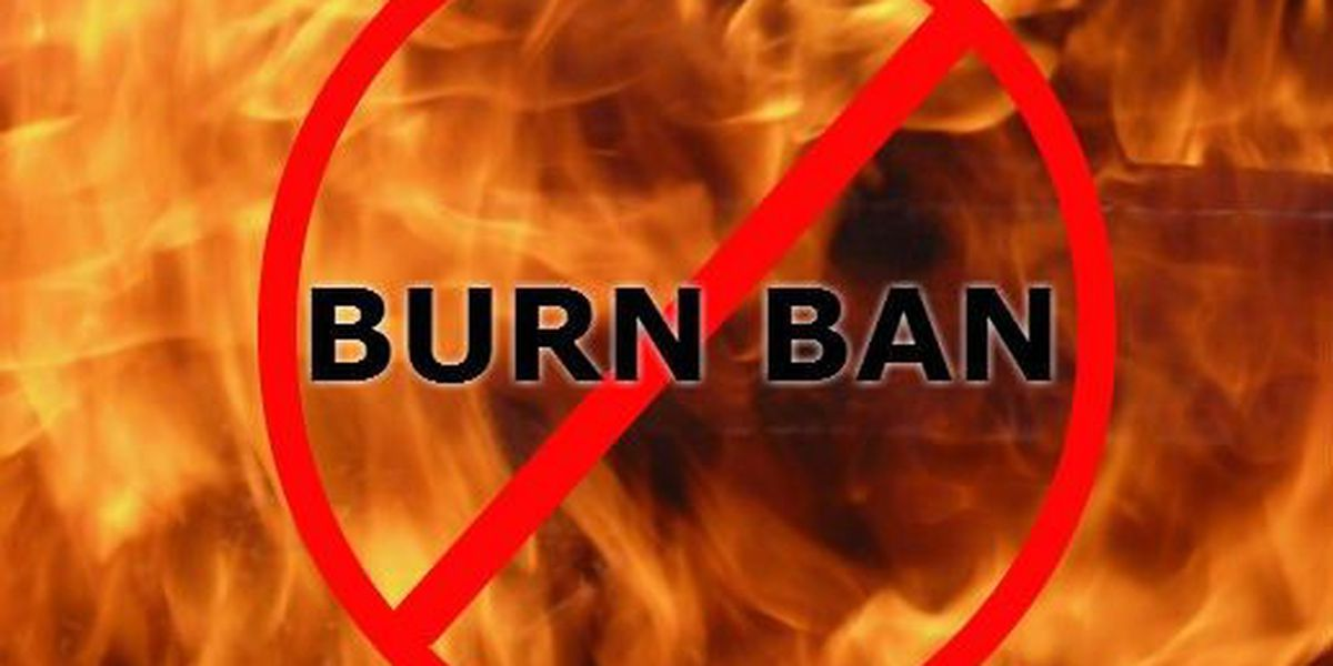 Burn bans issued for parts of the ArkLaTex