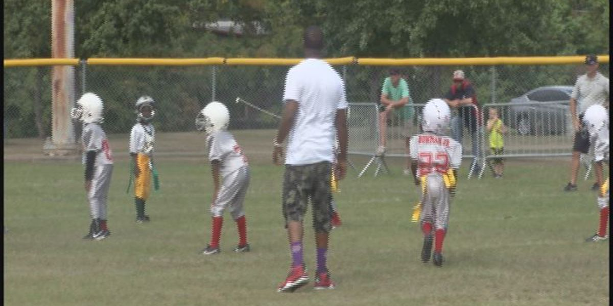 Teammates reserve spot on field for 6-year-old killed in Bossier City wreck