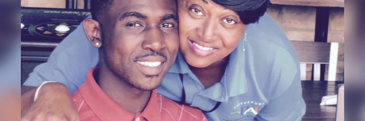 Mother copes with son's murder
