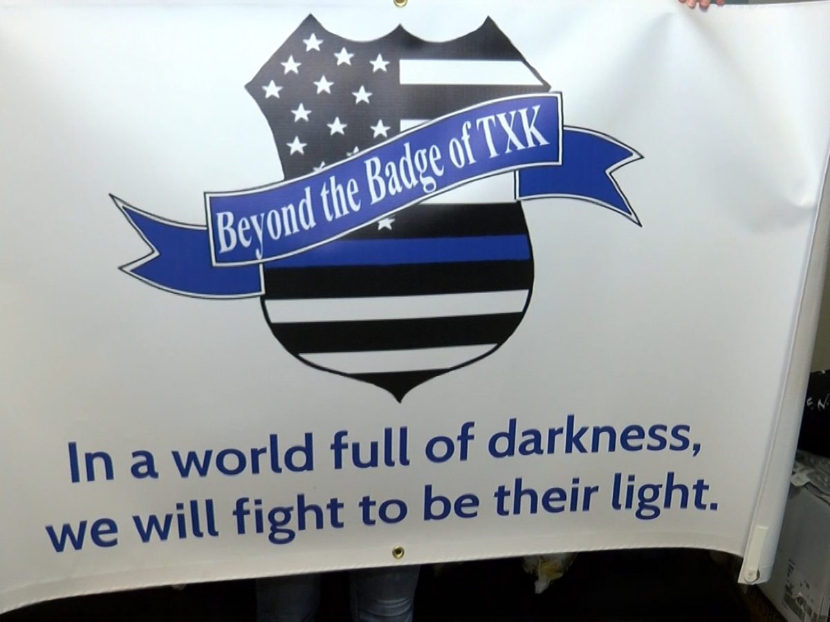 Non-profit group in Texarkana looking to support law enforcement officers