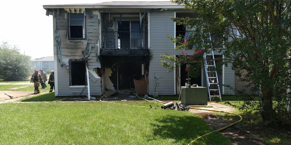 SFD battles apartment blaze