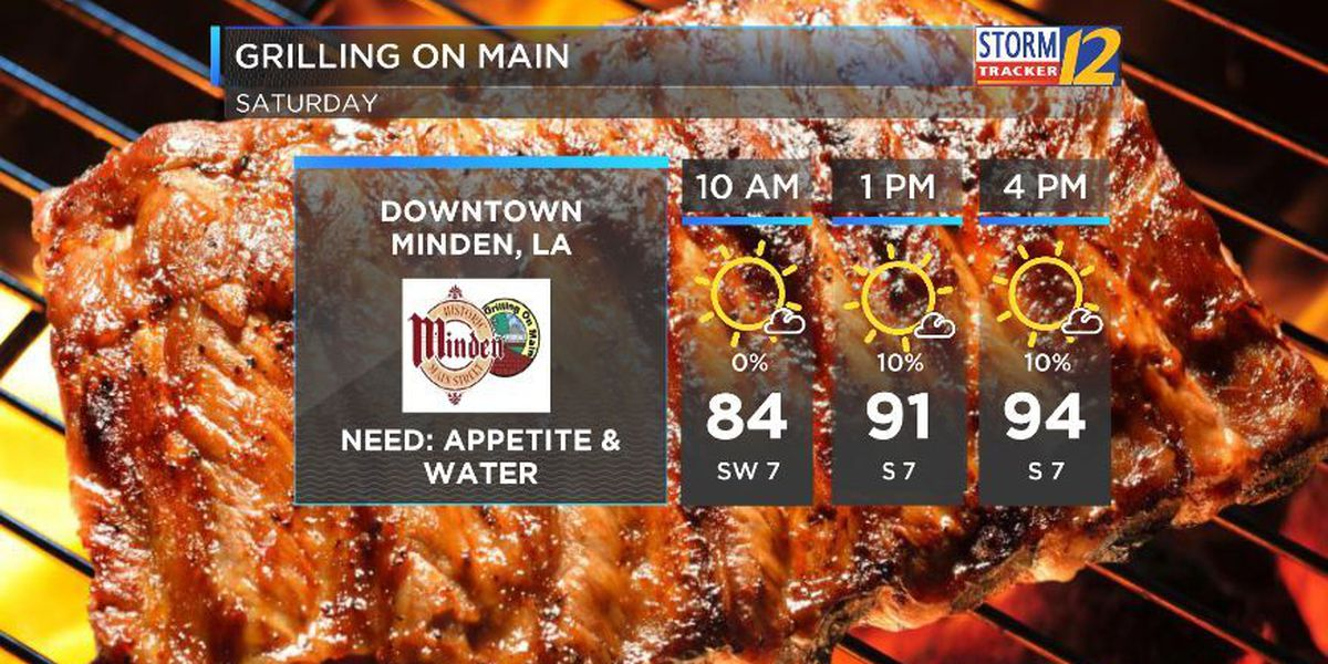 Sizzling temperatures and barbecues for Grilling on Main this weekend