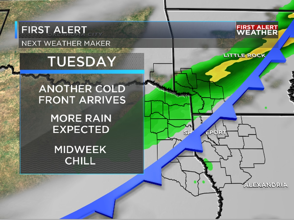 First Alert: Strong cold front on the way next week