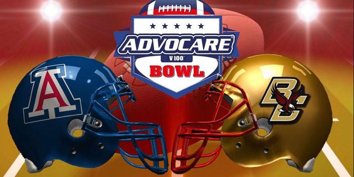 AdvoCare V100 bowl teams announced: Arizona vs Boston College