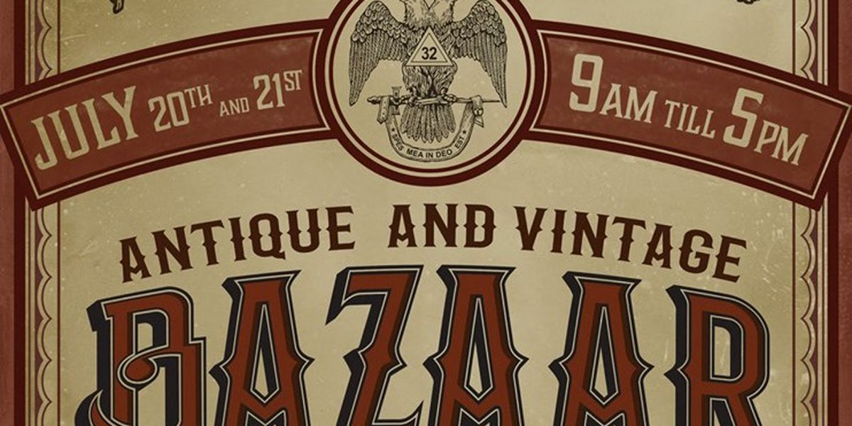 Antique & Vintage Bazaar kicks off at Historic Scottish Rite Cathedral