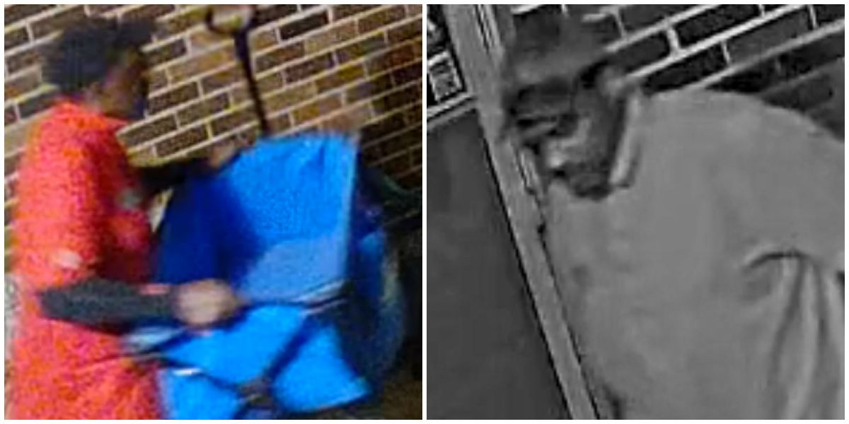 For the second time in a year, someone has stolen a centenarian's gardening cart